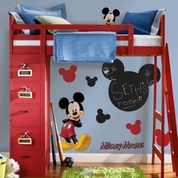 Kinderzimmer Micky Maus