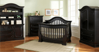 Baby Appleseed Davenport Convertible Crib in Espresso ...
