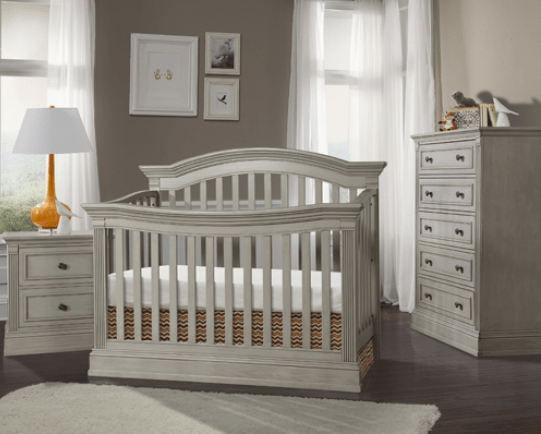 Templeton 4in1 Convertible Crib in Rustic Gray  Kids