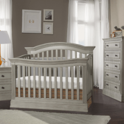 Chair To Bed Convertible Peg Perego High Templeton 4-in-1 Crib In Rustic Gray - Kids Furniture Los Angeles