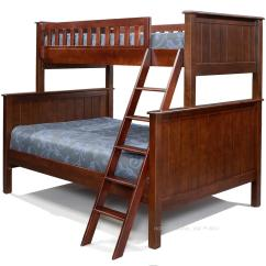 White Rocking Chairs For Sale Desk Chair Leg Support Campground Collection Twin Over Full Bunk Bed In Espresso - Kids Furniture Los Angeles
