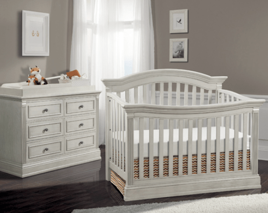 Templeton 4in1 Convertible Crib in Off White  Kids