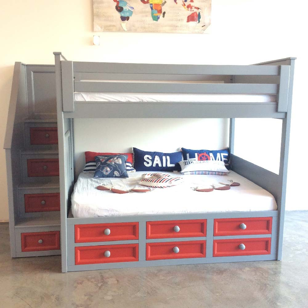 Winchester Twin Xl Over Queen Bunk Bed Kids Furniture In