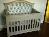 Naples Custom Tufted Convertible Crib - Kids Furniture In ...