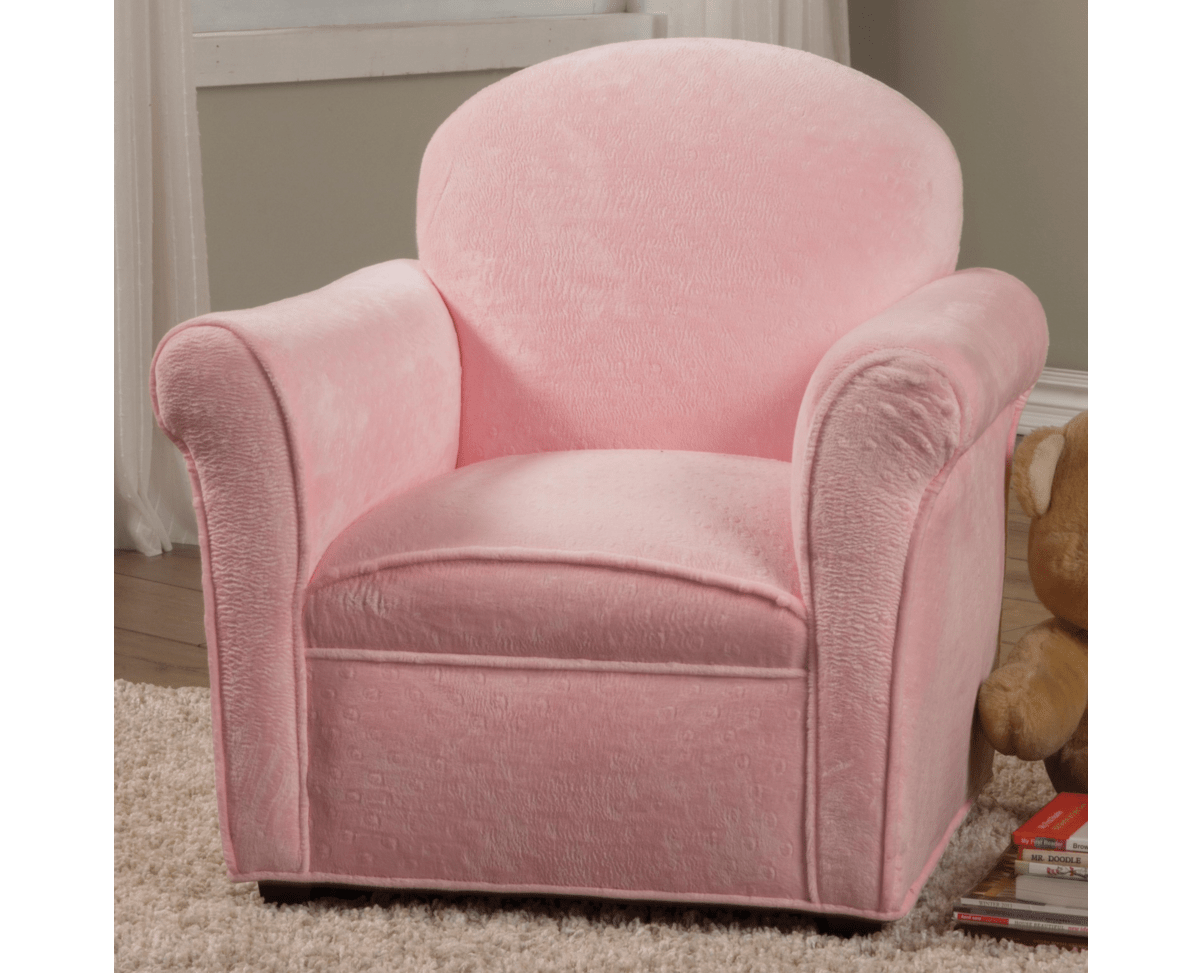 plush toddler chairs vintage beach pink kids chair furniture in los angeles
