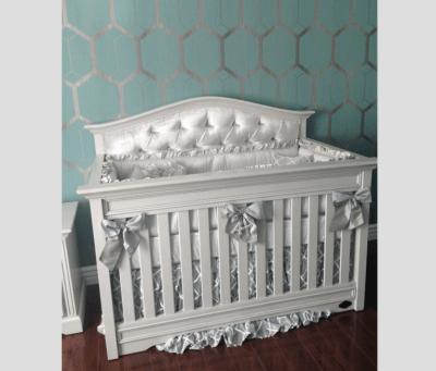 Venice Custom Tufted Convertible Crib - Kids Furniture In ...