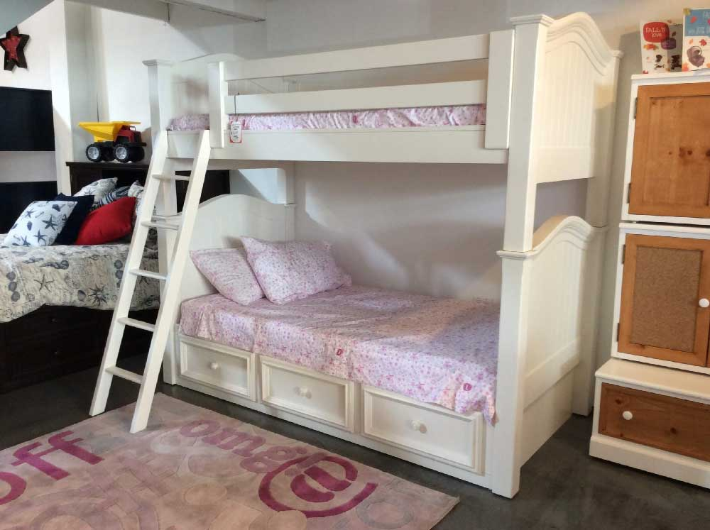 Country Hill Collection Bunk Bed  Kids Furniture In Los