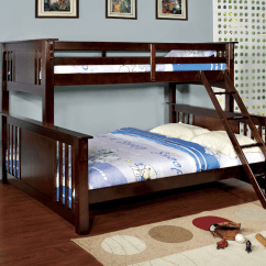 Queen Size Sofa Bed Dimensions How To Make A Hotel More Comfortable Crestline Twin Xl Over Bunk In Espresso - Kids ...