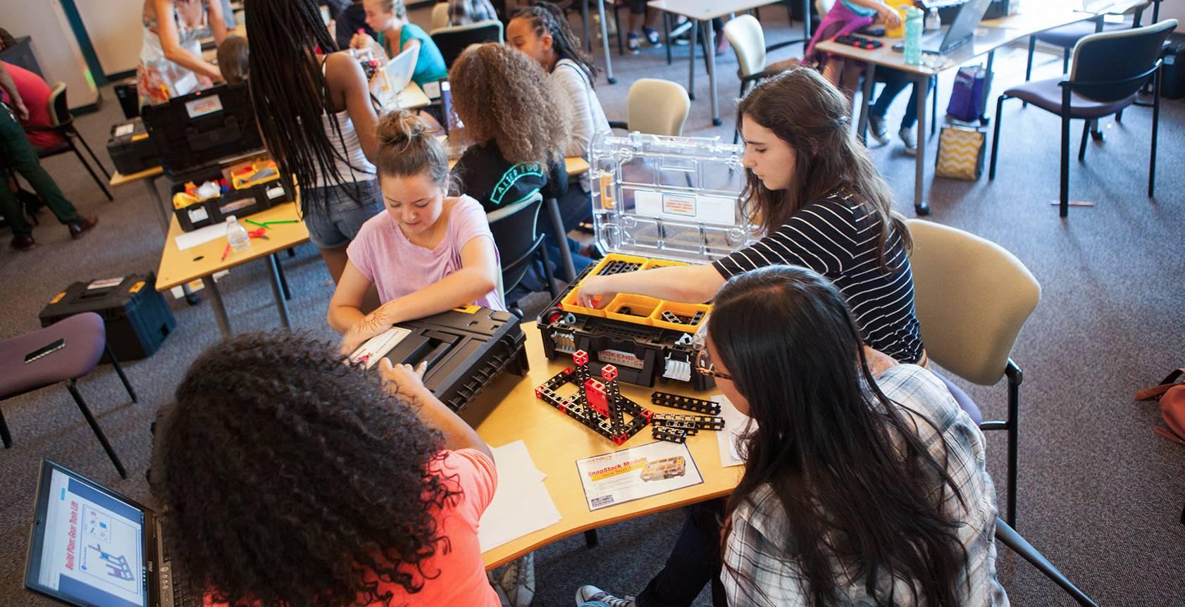 Mobile Stem Classroom Science Kits Kids Kid Spark
