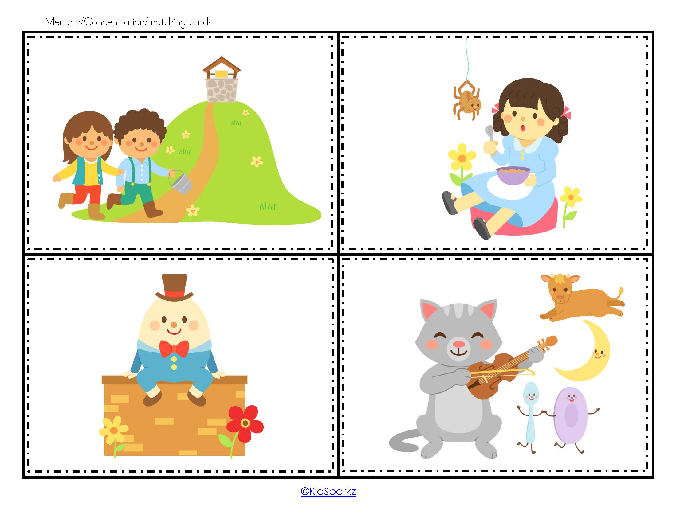 Nursery Rhymes Pack For Preschool Pre K 127 Pgs