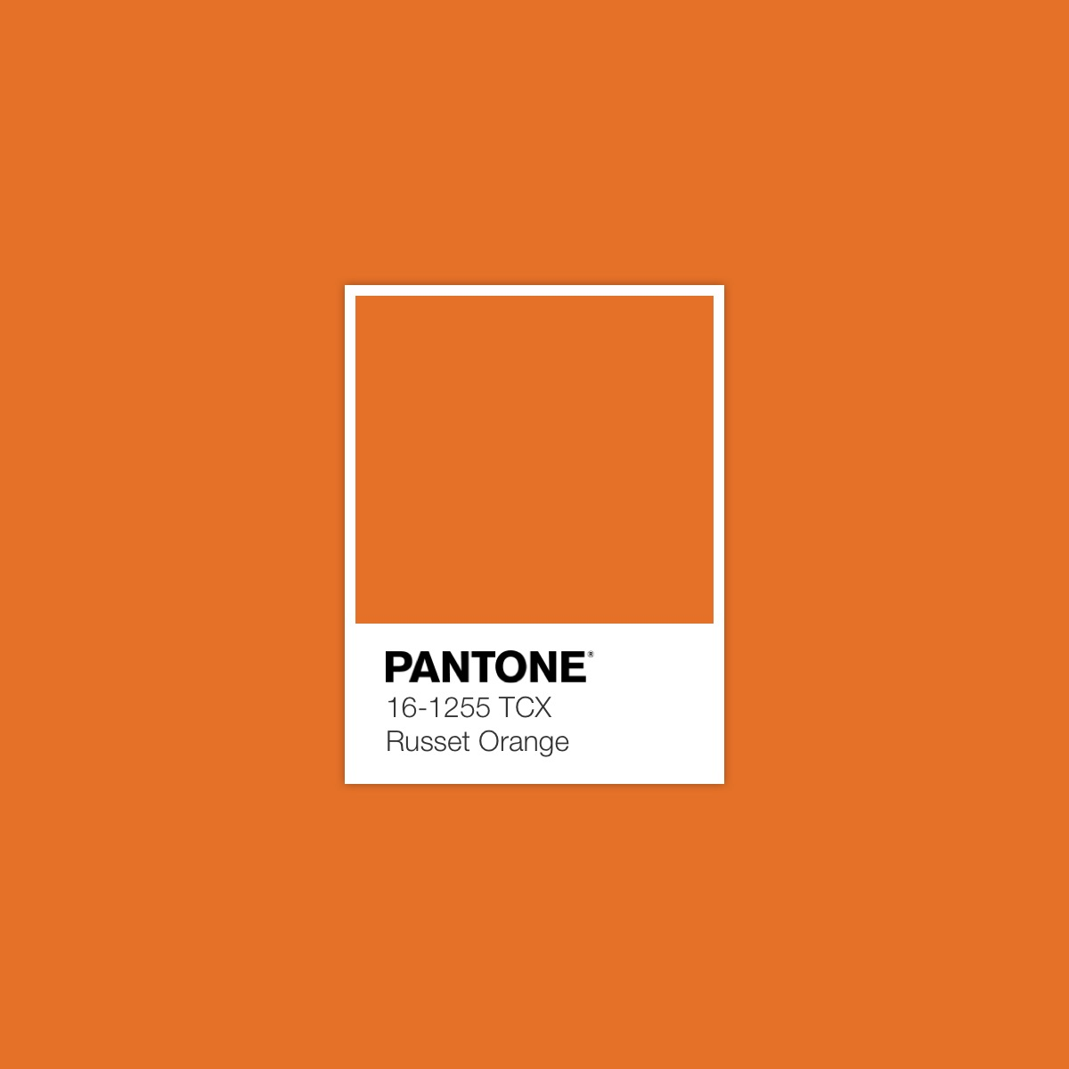Accented Green Pantone Color Swatch