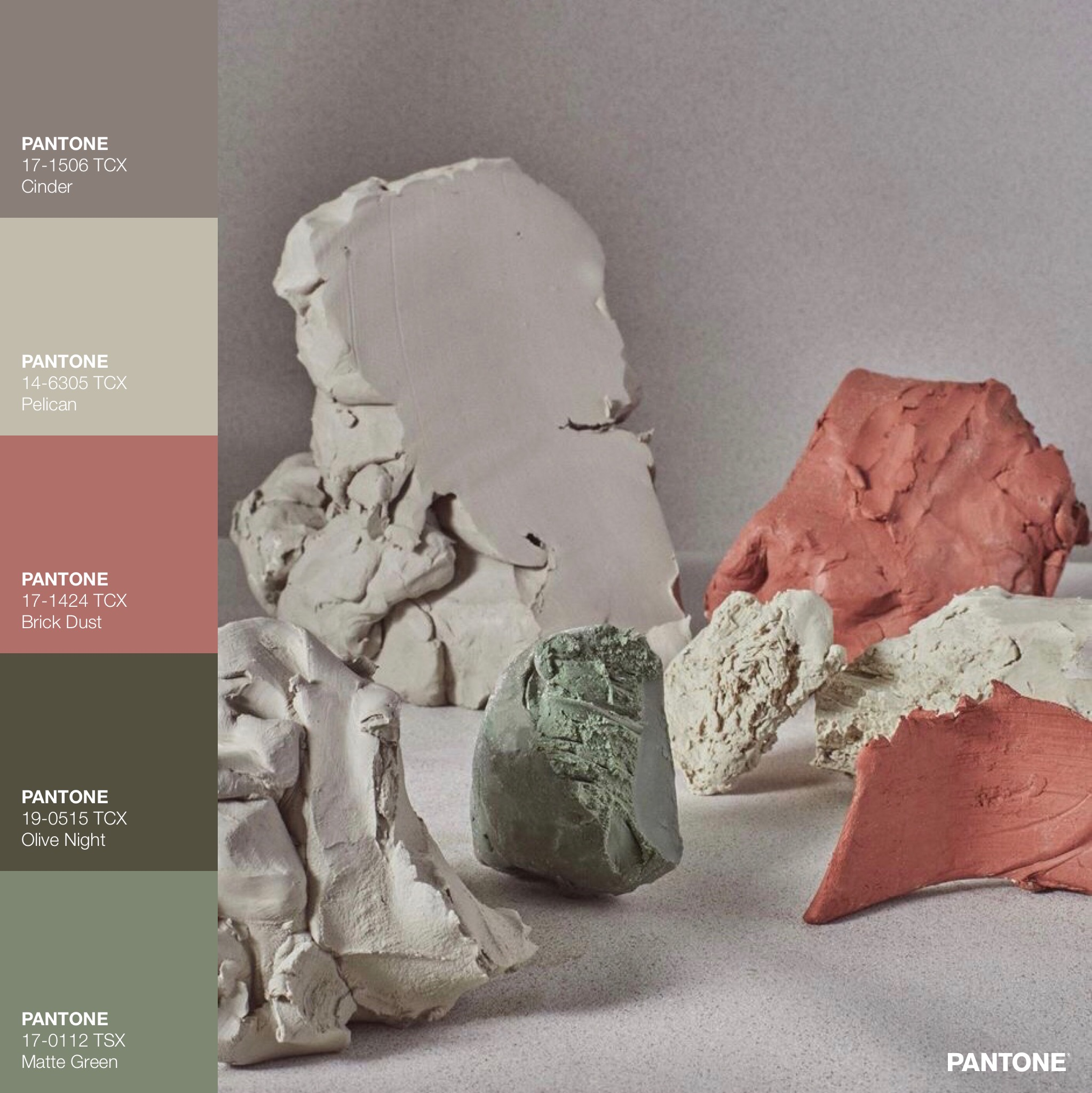 Clay Grain Color Palette