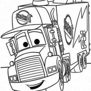 Excavator Moving Coal To A Dump Truck Coloring Page : Kids