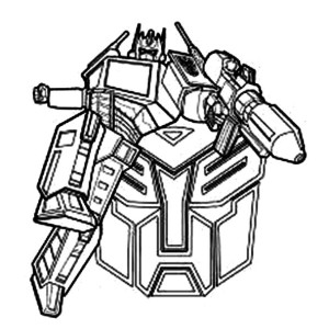Ironhide From Transformers Coloring Page : Kids Play Color