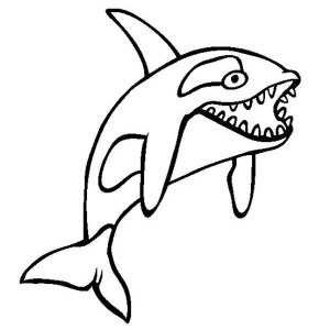 Blue Whale And Her Baby Coloring Page : Kids Play Color