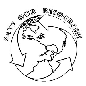 Earth Day Campaign T Shirt Coloring Page : Kids Play Color