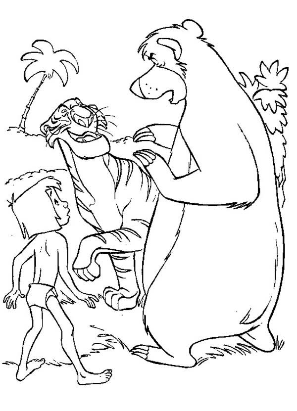 Shere Khan Coloring Pages Coloring Pages