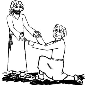 Doubting Thomas Coloring Pages For Kids : Kids Play Color