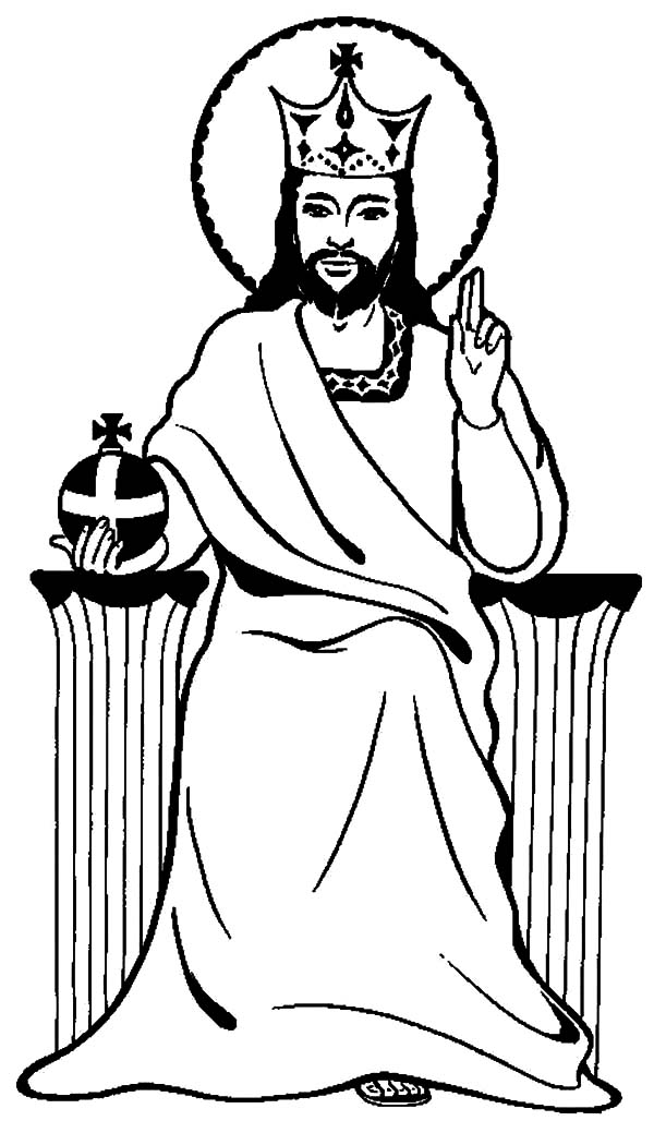 Jesus Is King Coloring Pages : Kids Play Color
