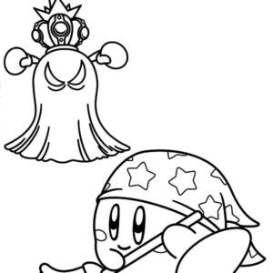 Nintendo Kirby Coloring Pages : Kids Play Color