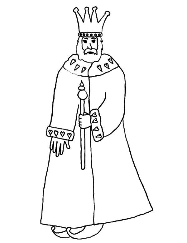 People King Coloring Pages : Kids Play Color