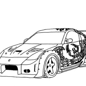 Honda S2000 Street Drifting Cars Coloring Pages : Kids
