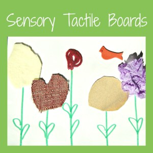 Sensory Tactile Boards
