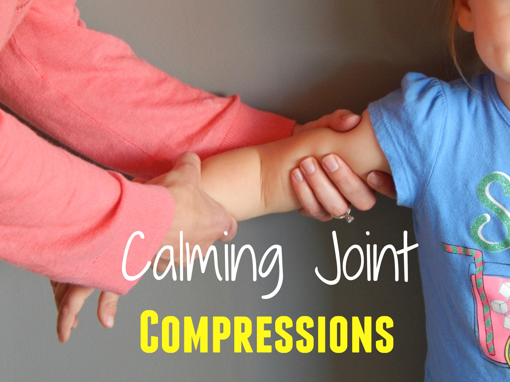 Joint Compressions For Calming