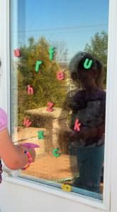 window letters