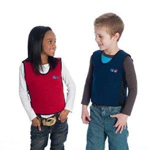 kids in compression vests