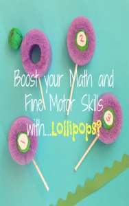 Boost Fine Motor and math Skills With Lollipops