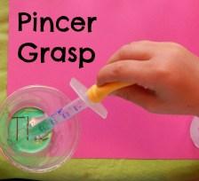 pincer grasp dropper