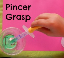 pincer grasp dropper