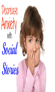 Decrease anxiety with social stories of new situations. Helpful for children with autism, sensory issues, and speech or social skill delays