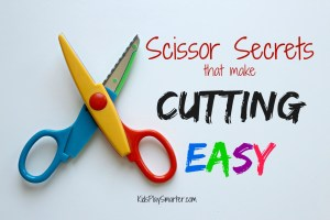Scissor Secrets that make Cutting Easy