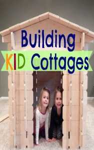 Develop problem solving skills, team work, creativity, and pride with these kid cottage kits. They put hands on playing back into a child's day!