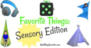 Favorite Things Sensory Edition