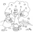 Match Up Coloring Pages