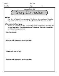 Literature Circles Roles Worksheets Free Worksheets ...