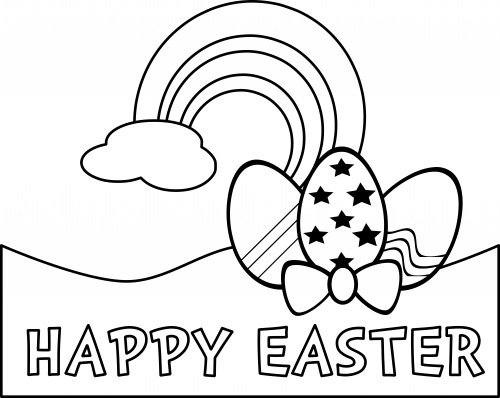Coloring Pages U2013 Happy Easter