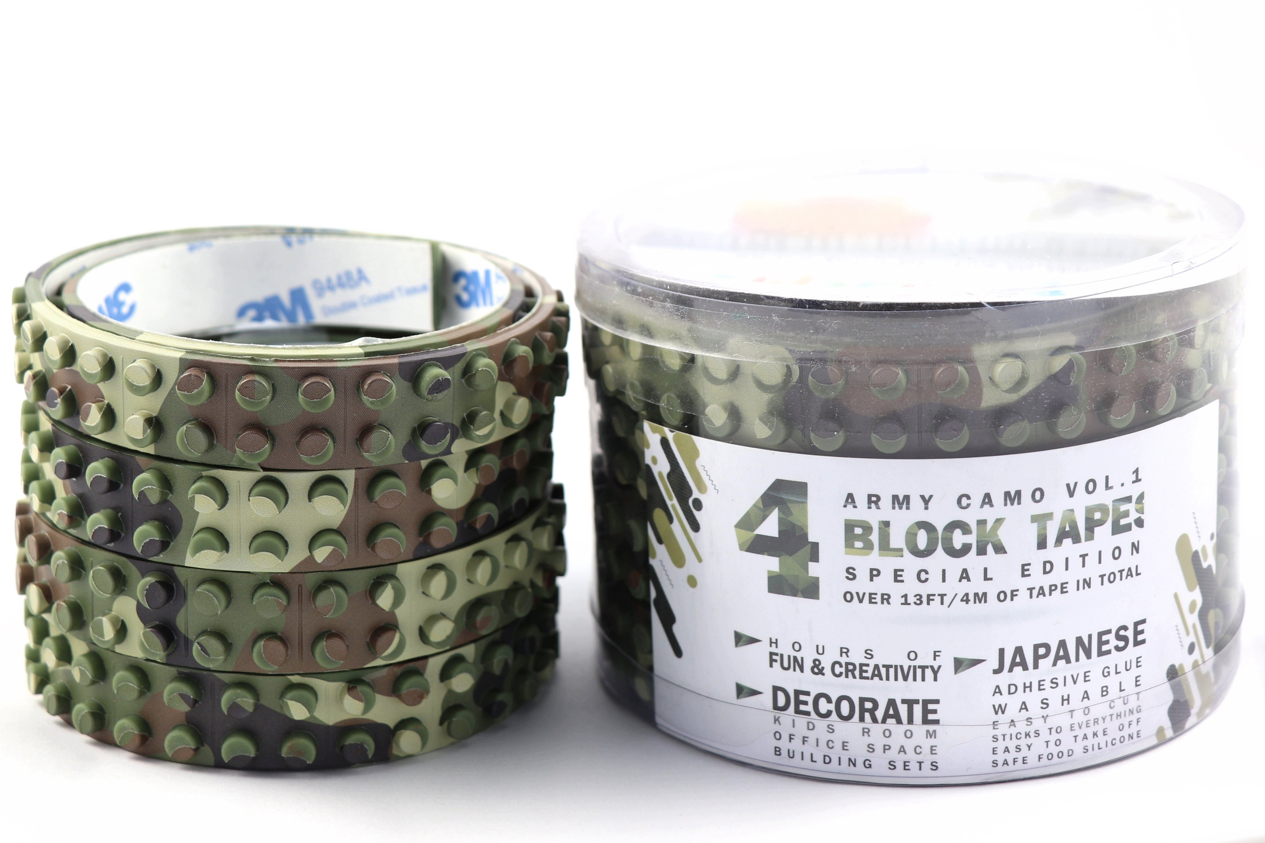 Camo Brick Tapes for Lego Set Builders