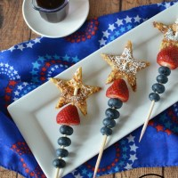 Patriotic French Toast for Kids