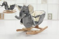 DanyBaby rocking elephant chair stuffed plush toddler ...