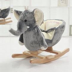 Plush Animal Rocking Chairs Child Sized Table And Set Danybaby Elephant Chair Stuffed Toddler