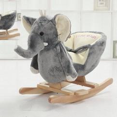 Stuffed Animal Chair Cow Print Dining Danybaby Rocking Elephant Plush Toddler
