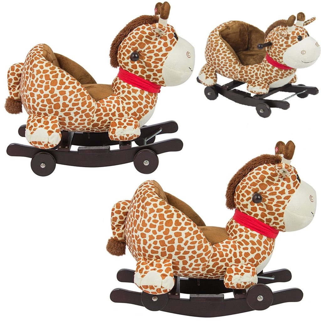 animal rocking chair recliner repair singapore convertible toy roller for baby kids
