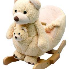 Children S Stuffed Animal Chairs Shiatsu Chair Massager Adorable Plush Rocking For Baby 39s Nursery