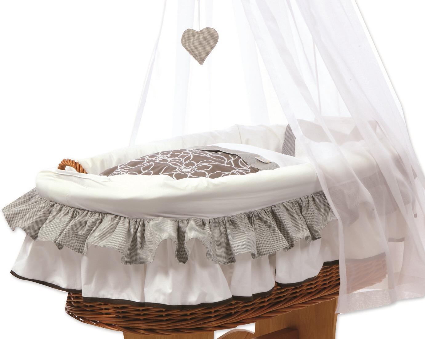 Stubenwagen baby alvi stubenwagen birthe weiß weiß möbel höffner