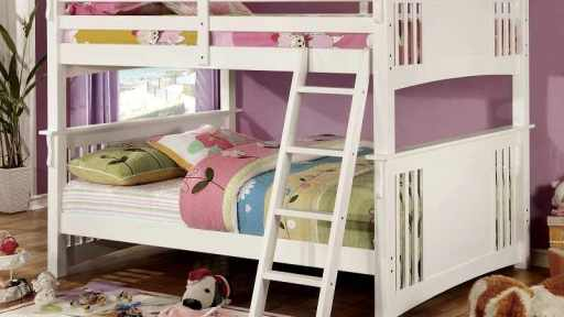 """Jojo Jeep Racer"" White Full over Full Bunk Bed – SOLD OUT, NO ETA"