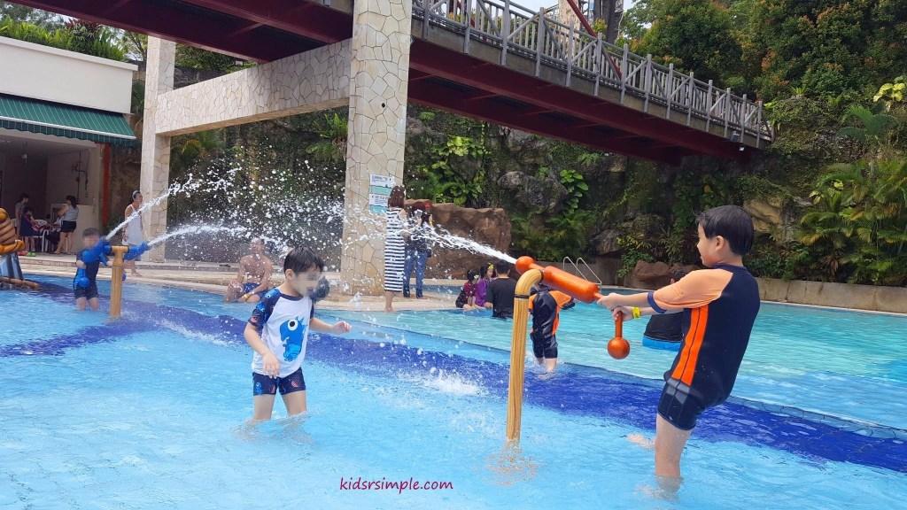 Water jet (Safra Yishun Pool)